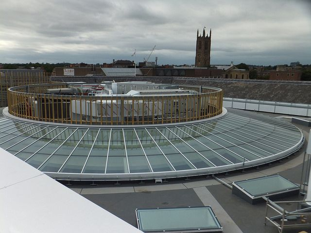 Civic Offices, Derby  Rooflights by Duplus Architectural Glazing Ltd. Please visit our website www.duplus.co.uk or call 0116 2610 710 for information