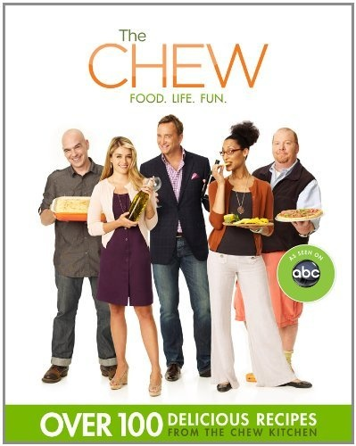 The Chew  Food, Life, Fun  (Book - 2012)  * * * The hosts of ABC'S hit daytime TV show The Chew bring you their easy, delicious meals, entertaining tips, and money-saving tricks, in this must-have companion cookbook.