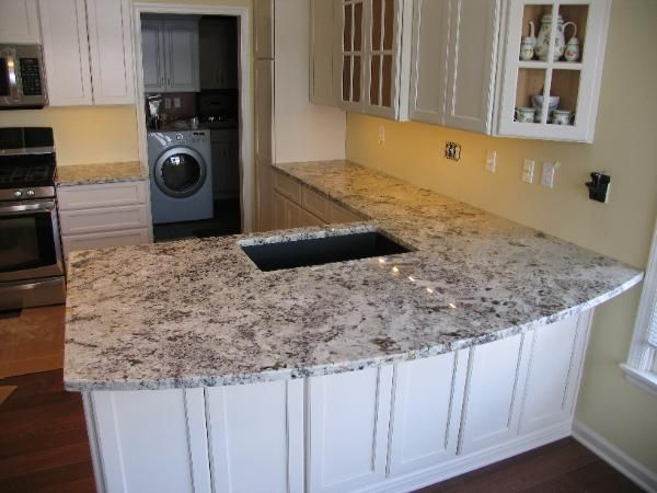 Alaska white granite countertops new house pinterest white granite granite countertops Kitchen design newtown ct