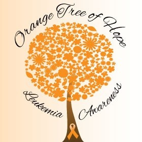 September is Leukemia Awareness month~ GO ORANGE!