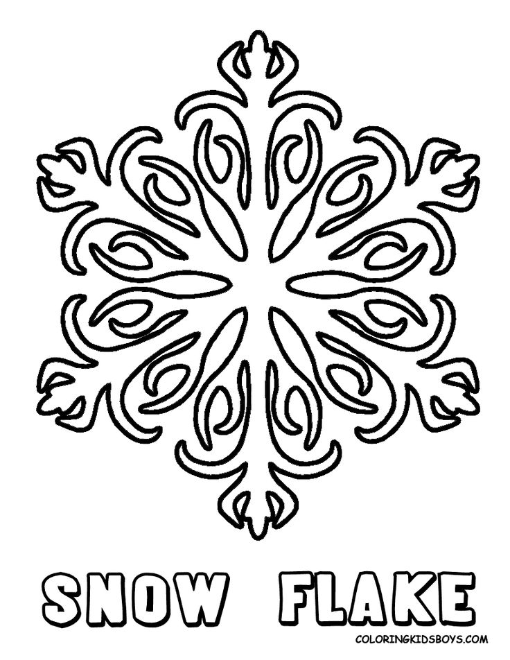 best 25+ cool coloring pages ideas only on pinterest | adult ... - Christmas Snowflake Coloring Pages