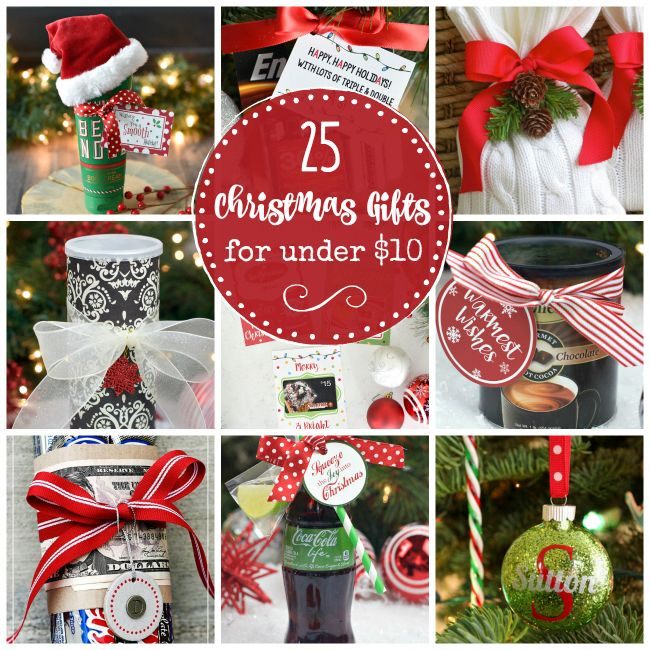 25 creative gift ideas that cost under $10. Great for ...