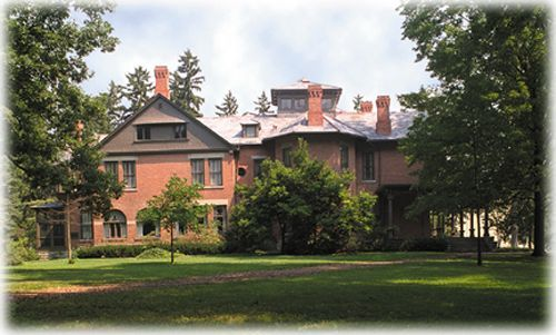 Spiegel Grove -- home of 19th U.S. President R.B. Hayes, Fremont Ohio.  Lovely home and grounds.  Not too far off I-80/90 (Ohio Turnpike).