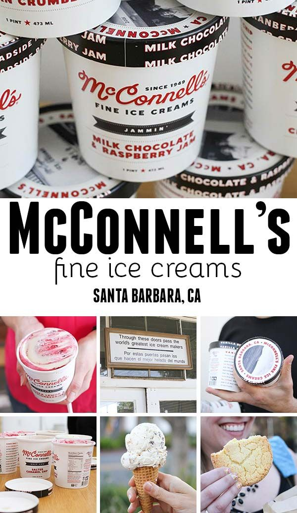 McConnells Ice Cream - based in Santa Barbara, CA