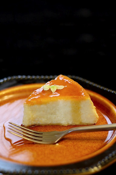 durian flan - must try out this recipe.