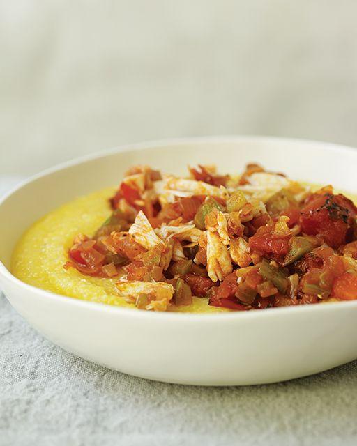 Cuban Cornmeal Stew with Crab - Harina con Cangrejo - http://www.sweetpaulmag.com/food/cuban-cornmeal-stew-with-crab-harina-con-cangrejo #sweetpaul