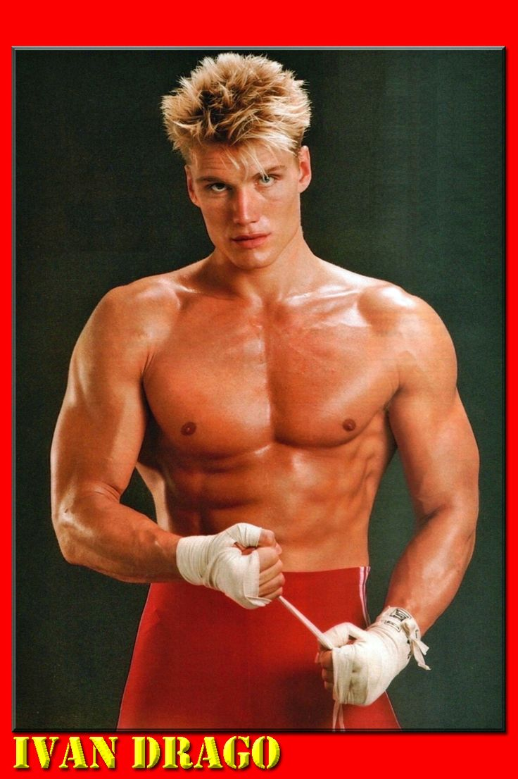 Perhaps the toughest competitor ever faced by the great Rocky Balboa was the Soviet Superman, Ivan Drago, played by Dolf Lundgren in Rocky IV.