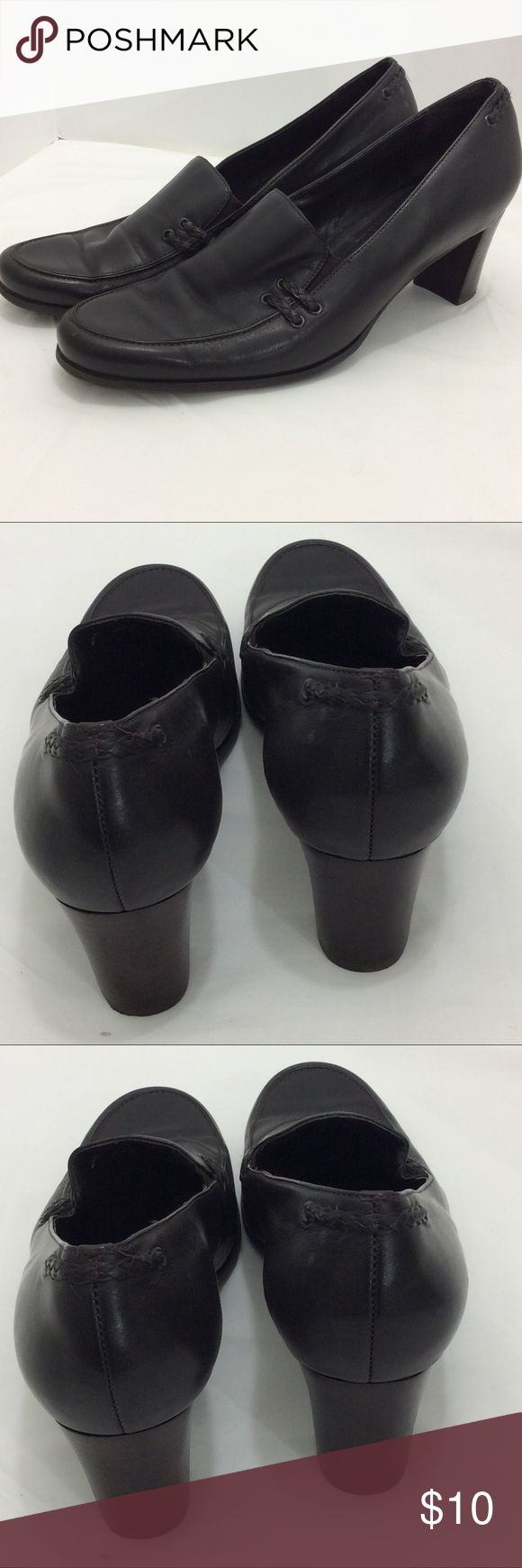Trotters ladies leather shoes sz 10 US Trotters ladies leather shoes sz 10 US. Black Excellent condition. Thanks. trotters Shoes Heels