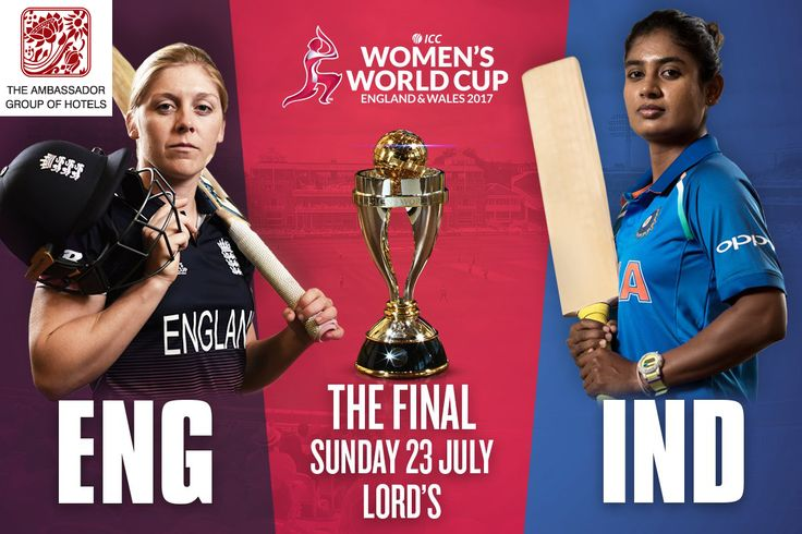 Now its time to support our 🏏 Indian women's cricket team Its time for #WWC17 @englandcricket 🆚 @BCCIWomen let our #WomenInBlue feel the support of a billion fans! 🗓 Sunday 23 July 🕥 03.00 PM (IST) 🏆 ICC Cricket World Cup 📍 Lord's Cricket Ground #HomeOfCricket ️#️⃣️ #ENGvIND  Visit Our Website: www.ambassadorindia.com  #worldcup #BleedBlue #cricket #MithaliRaj #India #BCCI #womenscricket #cricketlife #icc #cricketteam #lords #cricketworld #AmbassadorHotels #Mumbai #Chennai #Aurangabad…
