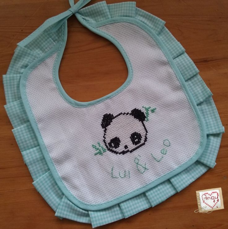 Panda cross-stitch