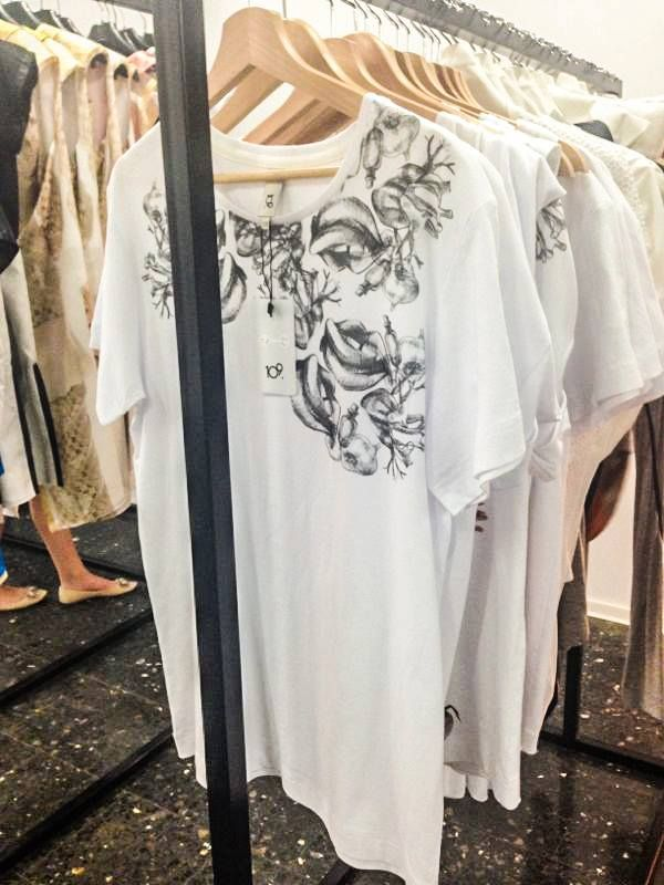 Spring/Summer '13 Capsule T-Shirt Collection - Interior Display at EVA - Design Românesc; styling by 109