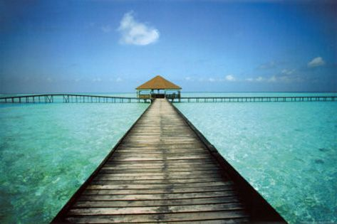 Jetty at the Maldives - by Massimo Borchi http://www.voteupimages.com/jetty-at-the-maldives-massimo-borchi/
