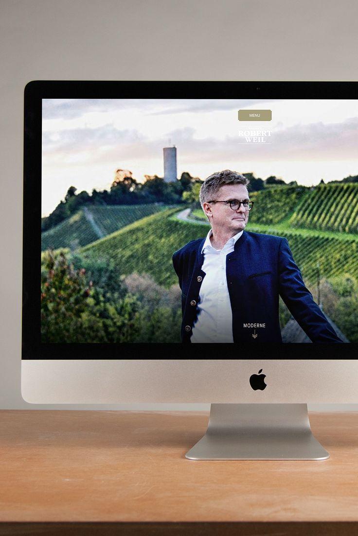 Robert Weil Weingut im Rheingau    #Webdesign #BueroMedienagenten