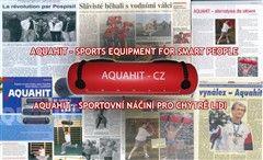 Aquahit - posilovací vak s vodou Cvičení s AQUAHITEM vyžaduje svalovou aktivitu zaměřenou na překonání váhy náplně a zároveň na vyrovnání silového působení této pohyblivé zátěže.