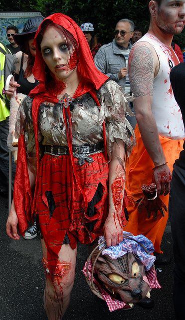 Zombie red riding hood zombies pinterest red riding hood