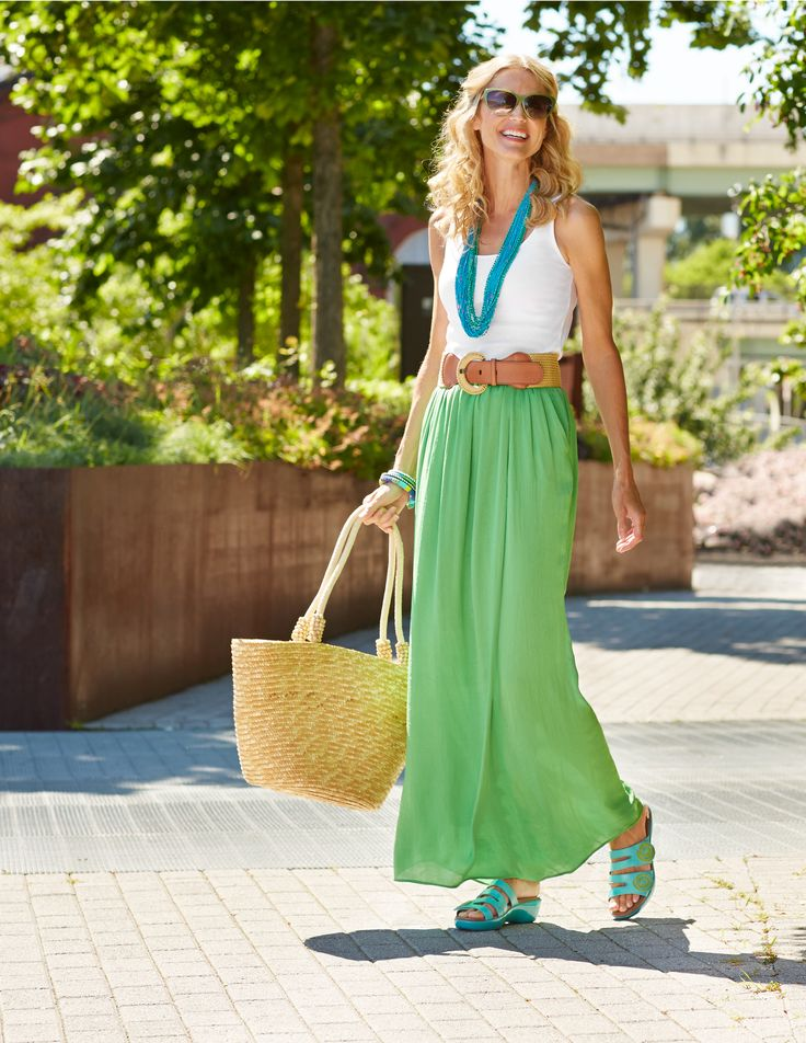 Out and about in Dansko Dixie Slide Sandals. Where do your Danko's take you?: Dansko Lifestyle, Grains Pairings, Dixie Turquoi, Dixie Sliding, Turquoi Full, Full Grains, Dansko Dixie, Sliding Sandals, Maxi Skirts