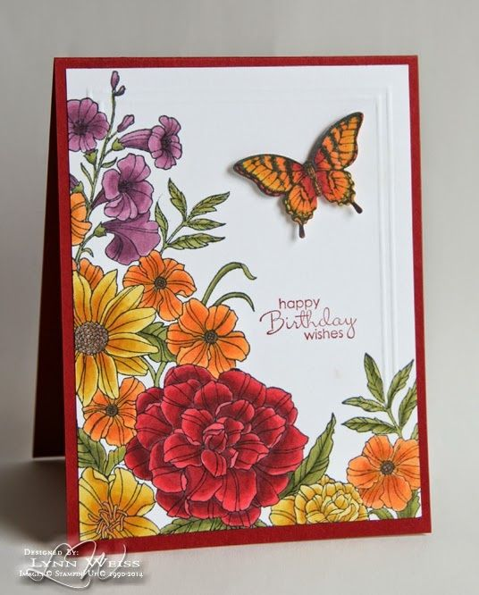 ... ! This is a beautiful, background sized stamp called Corner Garden