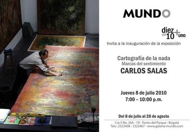 Carlos Salas, pintor - Archivo Galeria Mundo