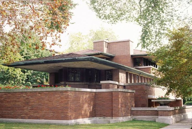 "La nature d'une architecture - Frank Lloyd Wright - ""prairie house"""
