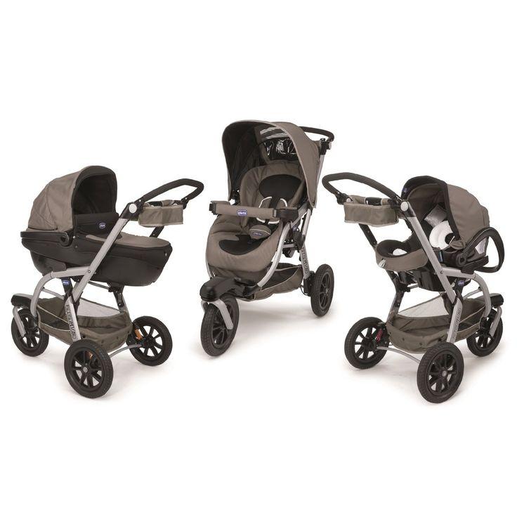 Amazon.com : Chicco Trio Travel System Active3 Beige : Baby