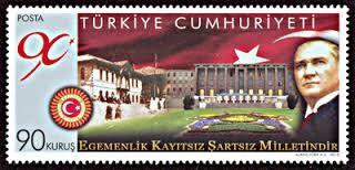 türkiye cumhuriyeti pulları ile ilgili görsel sonucu
