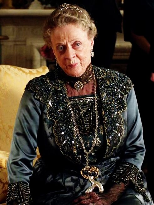 Dame Maggie Smith as Violet Crawley, Dowager Countess of Grantham - Downton Abbey Wiki
