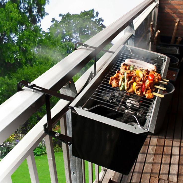 17 best ideas about balcony grill design on pinterest - Coleman small spaces bbq decoration ...