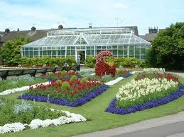 The greenhouse at Victoria park stafford