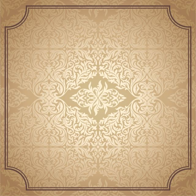 Vintage Pattern Flowers Pattern Decoration Png And Vector With