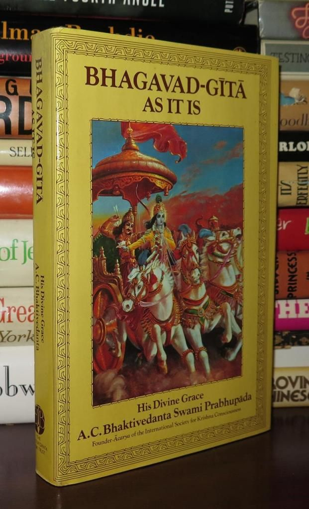 WHAT IS BHAGAVAD GITA    * GIVE PERFECT WISDOM  * HOW TO LIVE IN LIFE IT TEACH OF SRI GITA What can be learned by the study of Srimad Bhagavad-Gita?  Accurate, fundamental knowledge about God, the ultimate truth, creation, birth and death, the results of actions, the eternal soul, liberation and the purpose as well as the goal of human existence.  Back to the homepage