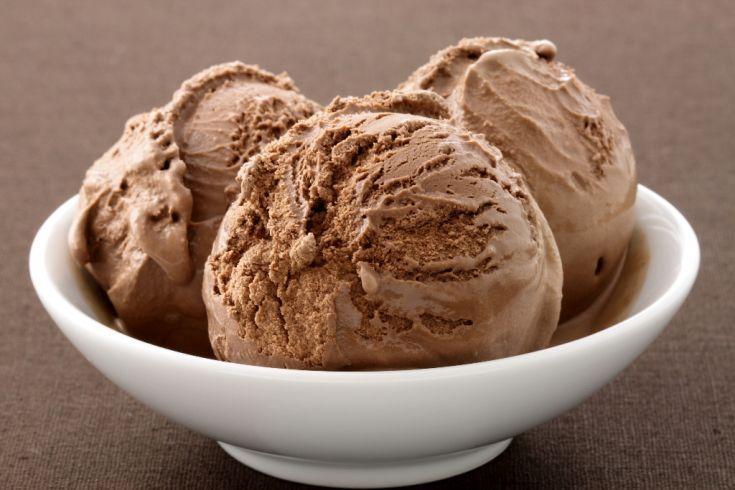 Kakaová zmrzlina s maizenou