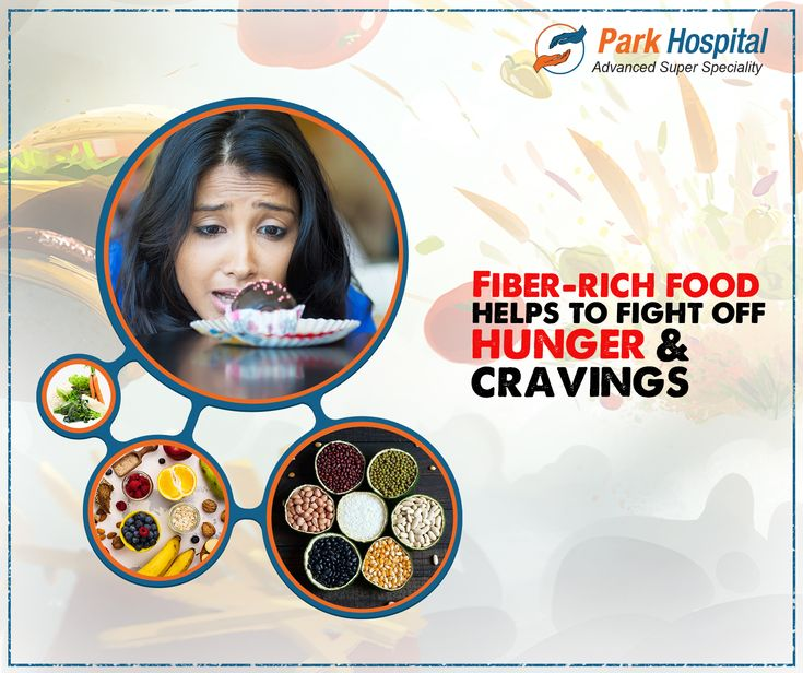 Fiberrich foods take longer to pass through your