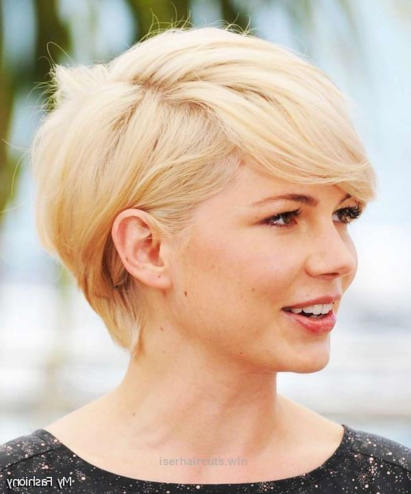The 25 best short hairstyles round face ideas on pinterest 2016 short hairstyles for round faces wedding hairstyles round face style for ma urmus Images