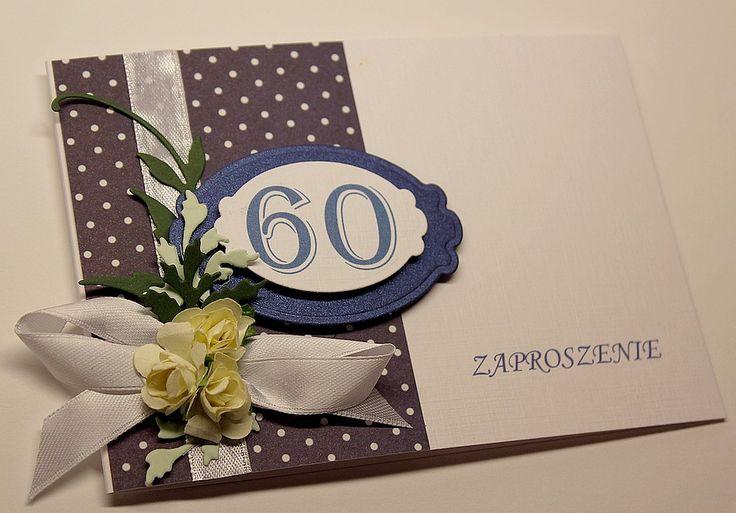 Ręcznie robione zaproszenie urodzinowe