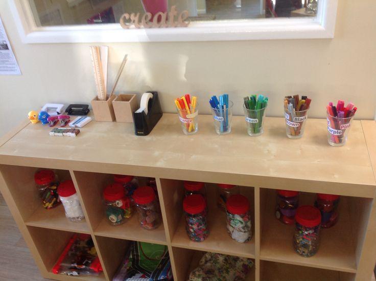 Stationary set up in preschool