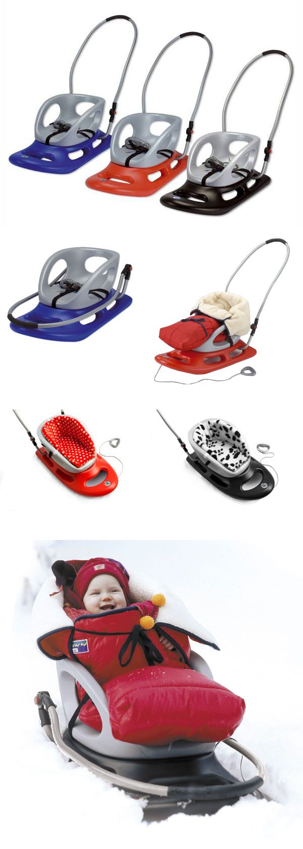If you have a baby sled then make sure you don't forget your BundleBean Go! to keep tiddlers cosy as they go