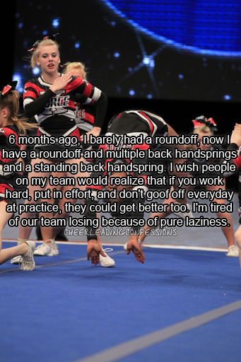 Cheerleading Confessions