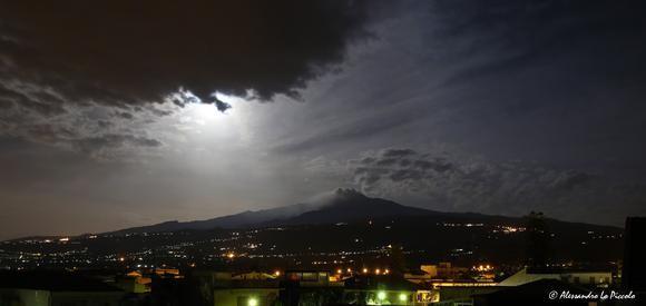 Mt. ETNA under the Moonlight...