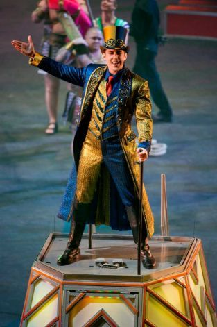 Ring Master Brian Crawford stars in Ringling Bros. and Barnum  Bailey Circus presents Fully Charged. The show comes to the XL Center in Har...