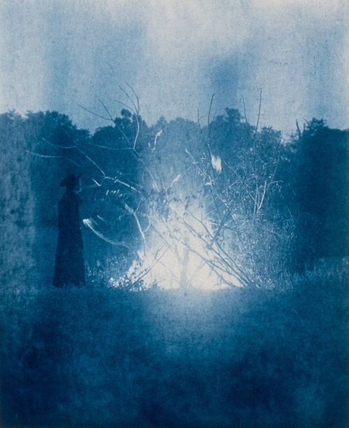The Rite of the American Independence, 1907 , 10 x 8 inches, cyanotype, 1988