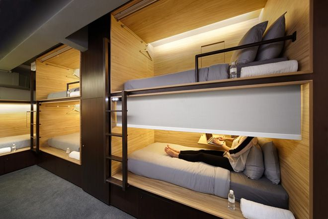 The Pod Boutique Capsule Hotel in Singapore by Formwerks Architects