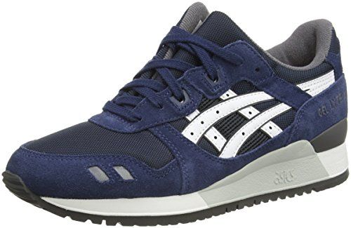 Shaw Runner, Chaussures de Sport Mixte Adulte - Bleu - Blu (India Ink/Burgundy), 48 EU EUAsics