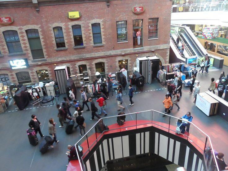 Inside Melbourne Central, Melbourne, Australia