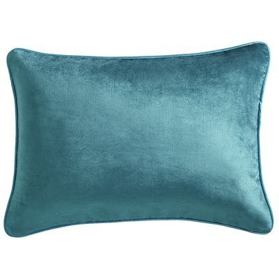 Lumbar Pillow - Teal Velvet