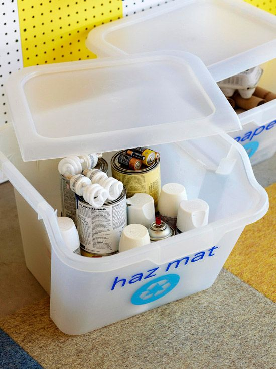 24 best recycling images on pinterest craft craft ideas for Recycling organization ideas