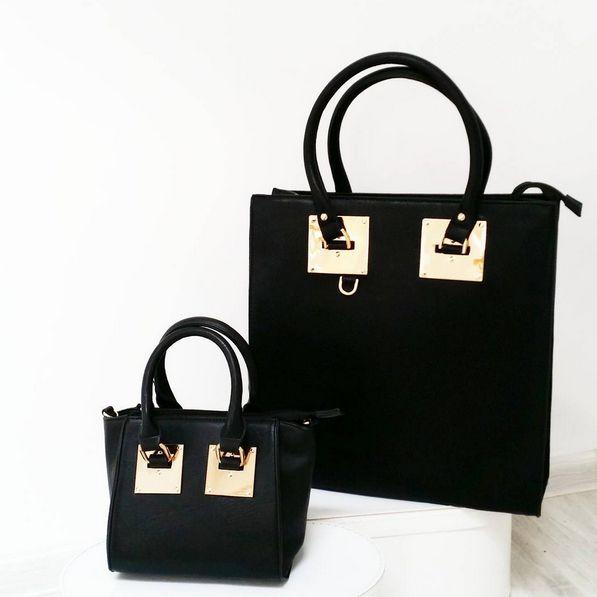 BAG TOTE BLACK I MONASHE.PL - Sklep online z modna odzieza.