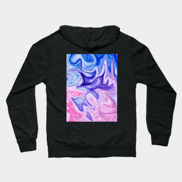2f77e38b Pink Violet Marble Watercolor Abstract | Lightweight Zip Hoodies ...