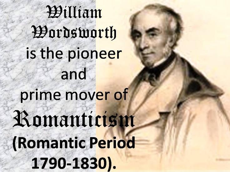 Essay on william wordsworth