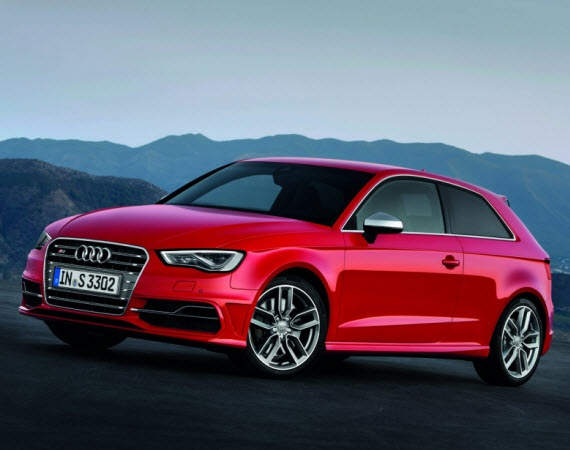 2013 Audi S3 Sportback....sadly not for US consumption