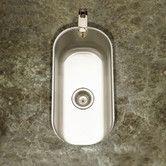 """Found it at Wayfair - Club 17.94"""" x 9.31"""" Undermount Element Bar Sink"""